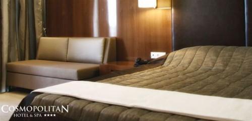 Αποκριες και Καθαρα Δευτερα…στο Πανεμορφο 4* Cosmopolitan Hotel & Spa στην Παραλια της Κατερινης… με Εορταστικο 3ημερο για Δυο Άτομα (& Ένα Παιδι εως 12 ετων Δωρεαν) σε Εντυπωσιακο Double Room, με Πλουσιο Πακετο Ημιδιατροφης & Δωρεαν Χρηση των Υπηρεσιων του Spa & Early Check In - Late Check Out! Προσιτη Πολυτελεια…σε Μοναδικη Τιμη, για Μια Ονειρεμενη Αποδραση!