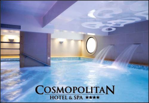 Καθαρα Δευτερα στην Παραλια Κατερινης στο 4* Cosmopolitan Hotel & Spaμε 139€ για 3 ημερες - 2 διανυκτερευσεις με Ημιδιατροφη (πρωινο και δειπνο σε μπουφε) σε δικλινο δωματιογια 2 ενηλικες και 2 παιδια, ενα εως 12 ετων και ενα εως 3 ετων! Ελευθερη απεριοριστη προσβαση στο Κεντρο Ευεξιας που περιλαμβανει εσωτερικη θερμαινομενη πισινα, Σαουνα, Χαμαμ και Γυμναστηριο! Παρεχονται early check in - late check out! Η προσφορα ισχυει για διαμονητο τριημερο της Καθαρας Δευτερας απο 11 εως 14 Μαρτιου