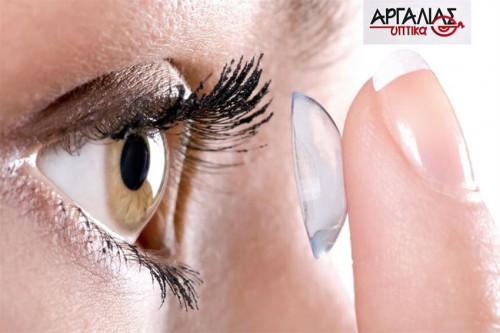 Μοναδικη Προσφορα για Τελεια Όραση, με Προστασια της Υγιεινης των Ματιων & Άριστη Οπτικη Εφαρμογη, με την Εγγυηση Ποιοτητας του Κορυφαιου Οικου Οπτικων Αργαλιας στην Ερμου, στο Κεντρο της Θεσσαλονικης! Μολις 14,90 ευρω για Έξι (6) Μηνιαιους Φακους Επαφης Ασφαιρικης Κατασκευης και Υψηλης Ευκρινειας της Επωνυμης Εταιριας Alpha Vision και ΔΩΡΟ Ένα (1) Βιολογικο Υγρο Καθαρισμου Φακων Biosoak (240ml)!