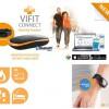 Bluetooth Μετρητης Βηματων & Θερμιδων Medisana ViFit με Λουρακι