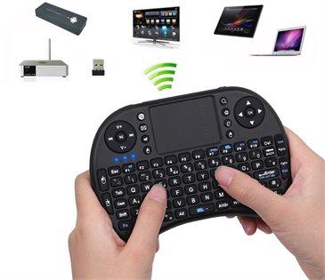 Μινι Ασυρματο Πληκτρολογιο για Smartphones & Smart TV