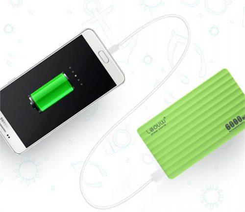 Power Βank 6000mAh για Smartphones με 2 Θυρες USB