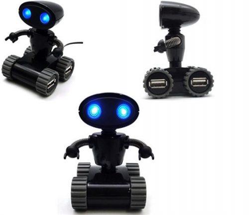 Robot - USB Hub 4 Θυρων OEM Ασημι Χρωμα