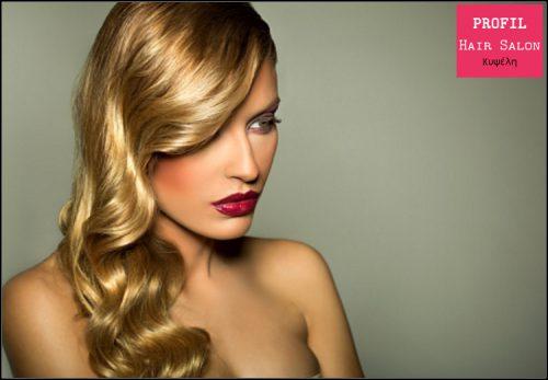 19€ για (1) κουρεμα, (1) θεραπεια αναδομησης, (1) χτενισμα και (1) λουσιμο, απο το Profil Hair Salon στην Κυψελη, αξιας 30€ - εκπτωση 37%