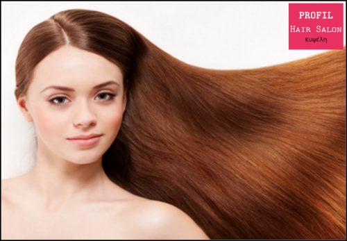 Απο 30€ για (1) ισιωτικη μασκα θεραπειας Keratin για ολα τα μηκα μαλλιων και (1) ειδικο σαμπουαν 350ml, απο το Profil Hair Salon στην Κυψελη, με εκπτωση εως 50%