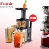 Αποχυμωτες TurboTronic Slow Juicers με Πρεσα Φρουτων-Λαχανικων 150W η 240W