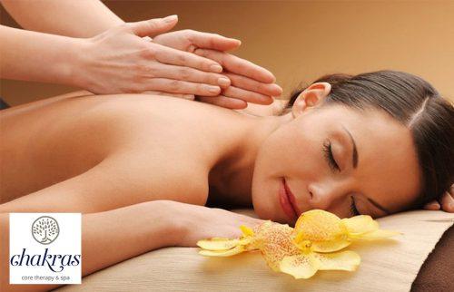 9€ απο 40€ για Αntistress Relaxing Massage 20' στον Εναλλακτικο χωρο του φημισμενου ''Chakras Core Therapy Spa'', στην Βουλα