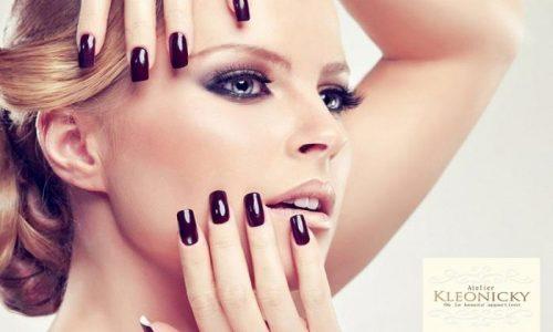 """9€ για πληρες 1 ημιμονιμο manicure, 1 λουσιμο και 1 χτενισμα, απο το """"Atelier Kleonicky"""" στον Άλιμο"""
