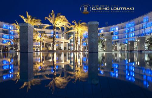 Club Hotel Casino Loutraki 5*: 99€ για 1 Διανυκτερευση 2 Ατομων με Πρωινο, Γευμα στο Ξενοδοχειο, 6 Ποτα, Δωρο εκπληξη για τα μελη του Ποντομανια, Welcome drinks, Late check out, Εκπτωσεις σε Spa και Εστιατορια