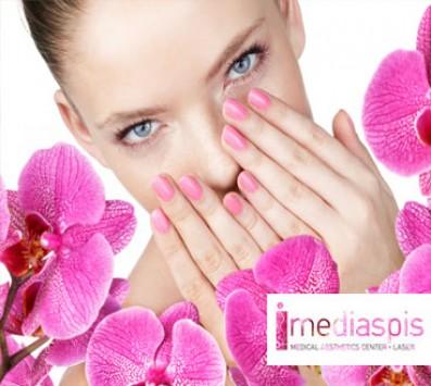 Manicure Ημιμονιμο+ Σχηματισμος Φρυδιων- Περιστερι - 10€ απο 20€ (Έκπτωση 50%) για ενα Ολοκληρωμενο Manicure με Ημιμονιμη Βαφη και ενα Σχηματισμο Φρυδιων, απο το εξειδικευμενο κεντρο «Mediaspis» στο Περιστερι πολυ κοντα στο μετρο Περιστεριου!