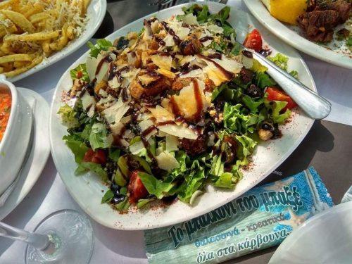 Γευμα η δειπνο για 2 ατομα με φρεσκα θαλασσινα πιατα & γευστικους μεζεδες...πλαι στο κυμα