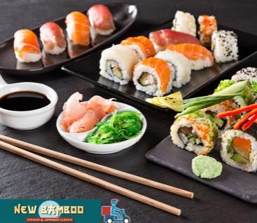 New Bamboo - Νεα Ιωνια - 25€ απο 30€ (Έκπτωση 17%) για ενα Πληρες Λαχταριστο Menu με Ελευθερη Επιλογη Φαγητου απο τον Καταλογο αποκλειστικα για Delivery! Γνωριστε την ασιατικη κουζινα, που ειναι κλασικο παραδειγμα υγιεινης διατροφης και εχει ισχυρη παρουσια σχεδον σε καθε μεγαλουπολη στο εστιατοριο κινεζικης και ιαπωνικης κουζινας «New Bamboo» στην Νεα Ιωνια!!!
